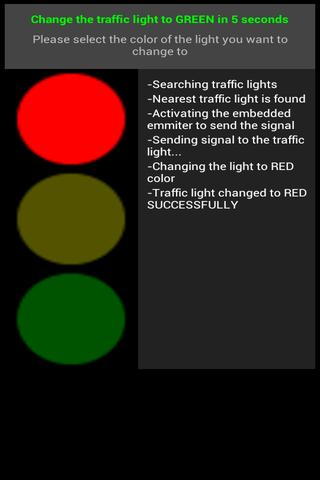 traffic-light-controller-prank for android screenshot