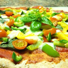 Easy Tomato-Basil Pizza
