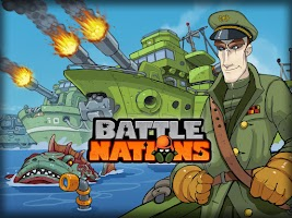 Screenshot of Battle Nations
