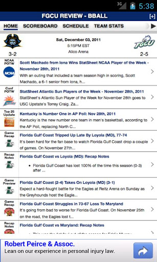 Florida Gulf Coast Basketball