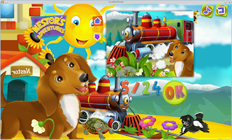 Screenshot of Nestor Fairy Tale Puzzles Fun