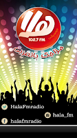 Screenshot of Hala FM