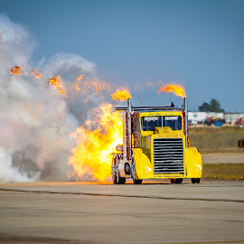 Shockwave coming... by Ron Meyers - Transportation Automobiles