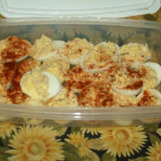 Tuna Stuffed Deviled Eggs!
