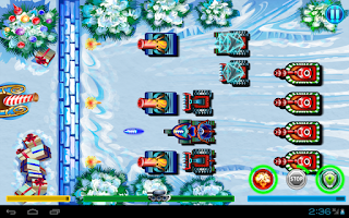 Screenshot of Defense Battle Xmas