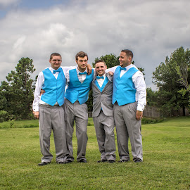Groomsmen by Laurie Biby - Wedding Groups ( grooms men, bros,  )