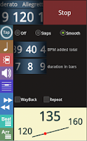 Screenshot of Metronomerous - pro metronome