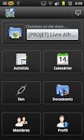Screenshot of ACC - ALF Mobile