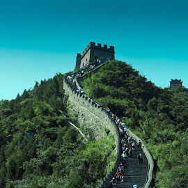GREAT WALL.. by Bambang Panji - Buildings & Architecture Public & Historical