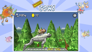 Screenshot of Wacky Cows