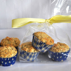 Lemon Poppy Seed Mini Muffins