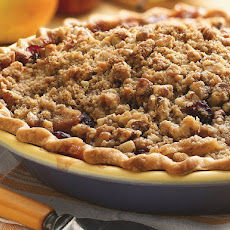 Apple and Dried Cranberry Pie