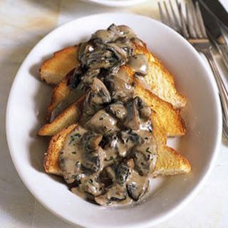 Cream Sherry Mushrooms On Toast Recipes | Yummly