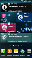 Screenshot of BBC iPlayer Radio