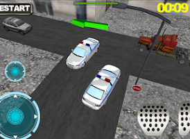 Screenshot of Ultra 3D police Car parking