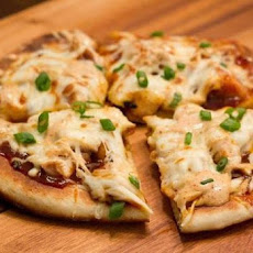 BBQ Chicken Pizza (Weight Watchers 5 Pts Per Slice)