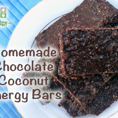 Chocolate Coconut Energy Bars