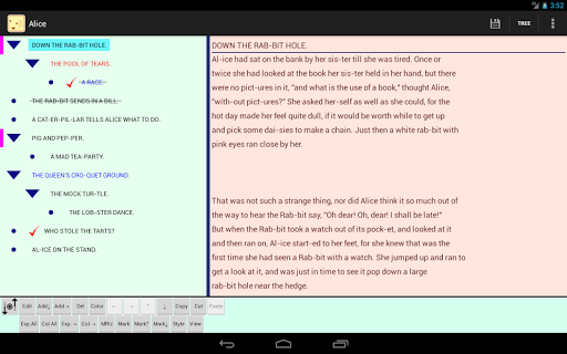 Halna Outliner - screenshot