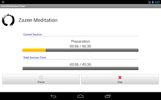 Screenshot of Zazen Meditation Timer