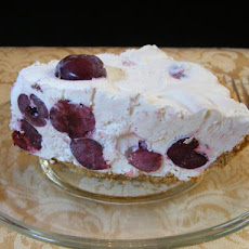Easy No Bake Frozen Cherry Cream Pie (2 Pies!!!)