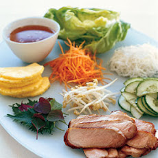Lemongrass Pork with Vietnamese Table Salad