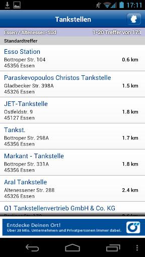 Tankstellen Suche Deutschland