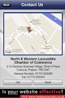 Screenshot of North West Lancashire Chamber