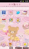 Screenshot of Rilakkuma Theme 27