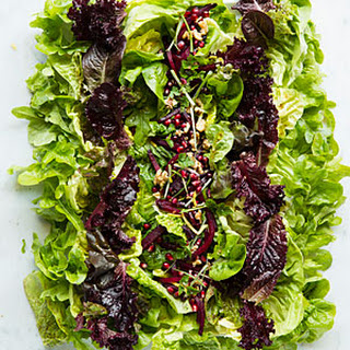 Baby Lettuces with Beets