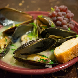 Mussels  by Timothy Miller - Food & Drink Plated Food