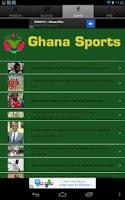 Screenshot of Ghana News
