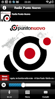 Screenshot of Radio Punto Nuovo