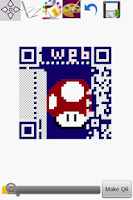 Screenshot of Graphical QR Code Maker