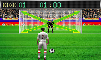 Screenshot of Football Penalty