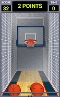 Screenshot of Mini Shot Basketball Free