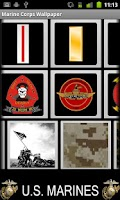 Screenshot of Marine Corps Wallpaper