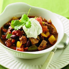 Chunky Pork Chipotle Chili