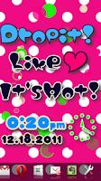 Screenshot of [Free]I Love Flow! Live Wall