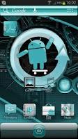 Screenshot of ADW Theme Cyanogen