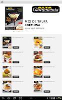 Screenshot of Alta Gastronomia