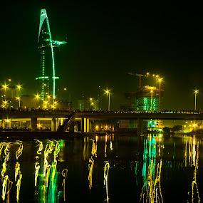 In Time style by Kiên Lâm - City,  Street & Park  Night ( pen, zuiko, kienmm, vietnam, saigon, olympus )