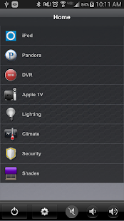 Crestron App - screenshot