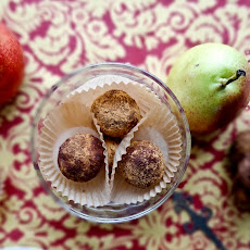 Chocolate Pecan Pear Truffles
