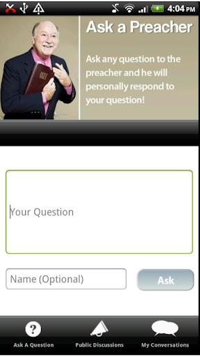 【免費娛樂App】Ask A Preacher-APP點子