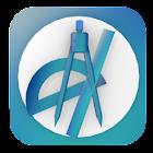 Map Tools - GPS measure & area icon