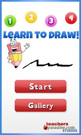 1234了解如何為孩子們繪製