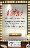 Screenshot of Drinking Mirror