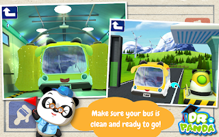 Screenshot of Dr. Panda's Bus Driver