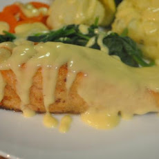 Crusted Fish With Wine-Mustard Sauce