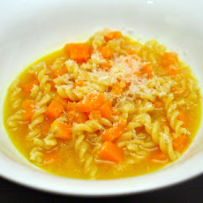 Butternut Squash and Pasta Soup